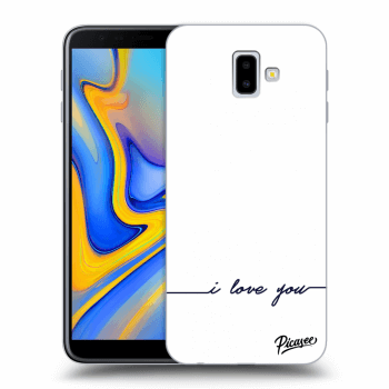 Obal pro Samsung Galaxy J6+ J610F - I love you