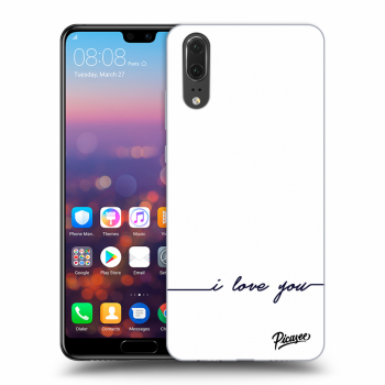 Obal pro Huawei P20 - I love you