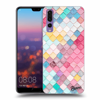 Obal pro Huawei P20 Pro - Colorful roof