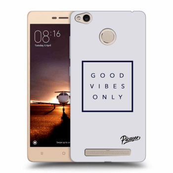 Obal pro Xiaomi Redmi 3s, 3 Pro - Good vibes only