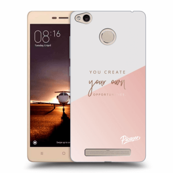 Obal pro Xiaomi Redmi 3s, 3 Pro - You create your own opportunities