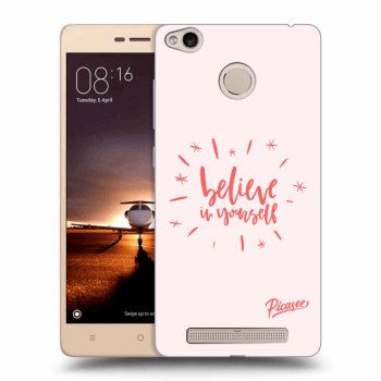 Obal pro Xiaomi Redmi 3s, 3 Pro - Belive in yourself
