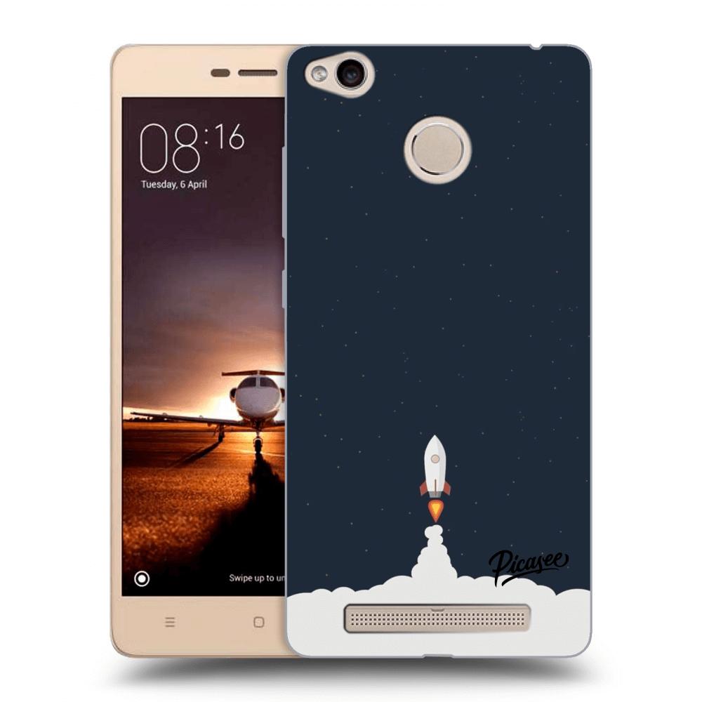 Picasee silikonový průhledný obal pro Xiaomi Redmi 3s 15688712997