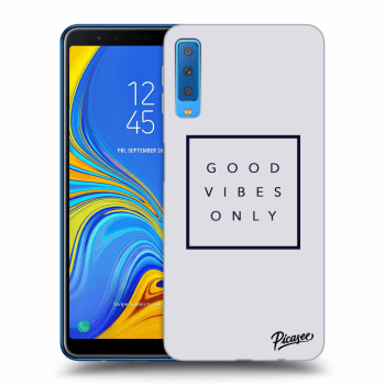 Obal pro Samsung Galaxy A7 2018 A750F - Good vibes only