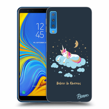 Obal pro Samsung Galaxy A7 2018 A750F - Believe In Unicorns
