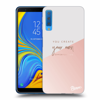 Obal pro Samsung Galaxy A7 2018 A750F - You create your own opportunities
