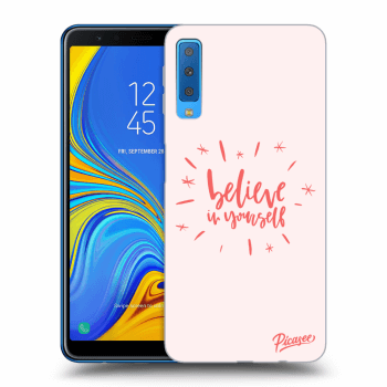 Obal pro Samsung Galaxy A7 2018 A750F - Believe in yourself