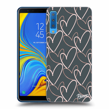 Obal pro Samsung Galaxy A7 2018 A750F - Lots of love