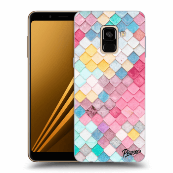Obal pro Samsung Galaxy A8 2018 A530F - Colorful roof