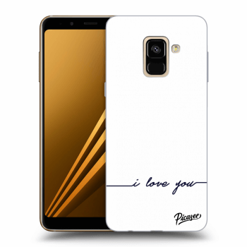Obal pro Samsung Galaxy A8 2018 A530F - I love you