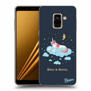 Obal pro Samsung Galaxy A8 2018 A530F - Believe In Unicorns