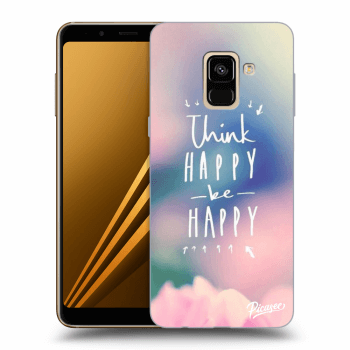 Obal pro Samsung Galaxy A8 2018 A530F - Think happy be happy