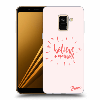 Obal pro Samsung Galaxy A8 2018 A530F - Believe in yourself