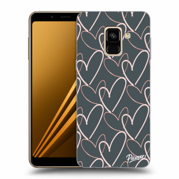 Obal pro Samsung Galaxy A8 2018 A530F - Lots of love