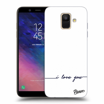 Obal pro Samsung Galaxy A6 A600F - I love you
