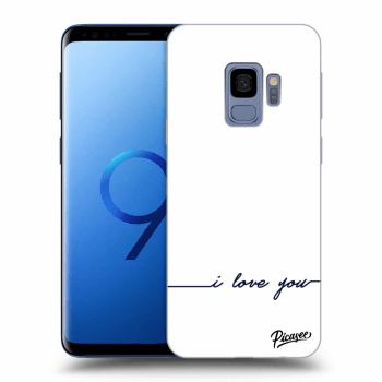 Obal pro Samsung Galaxy S9 G960F - I love you
