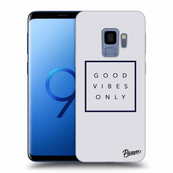 Obal pro Samsung Galaxy S9 G960F - Good vibes only