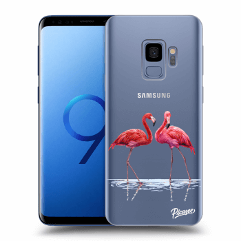 Obal pro Samsung Galaxy S9 G960F - Flamingos couple