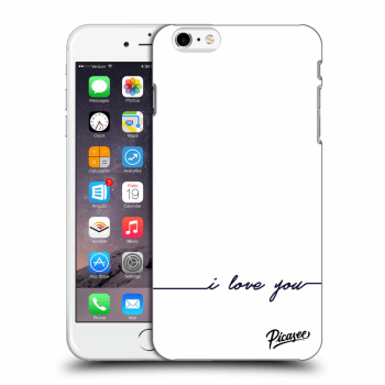 Obal pro Apple iPhone 6 Plus/6S Plus - I love you