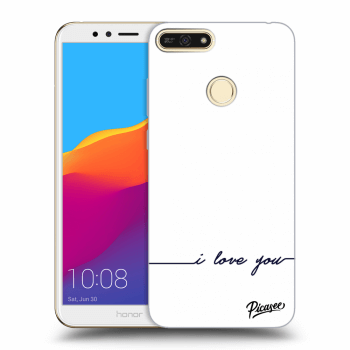 Obal pro Honor 7A - I love you