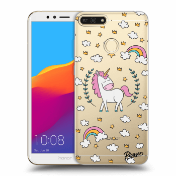Obal pro Honor 7A - Unicorn star heaven