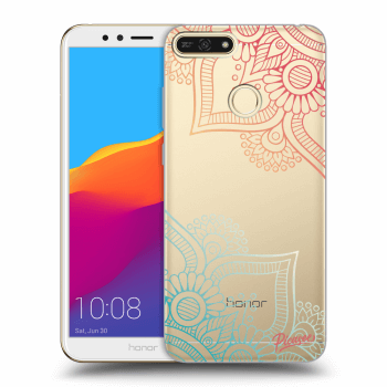 Obal pro Honor 7A - Flowers pattern