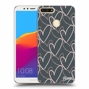 Obal pro Honor 7A - Lots of love