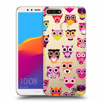 Obal pro Honor 7A - Owls