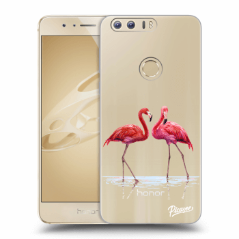 Obal pro Honor 8 - Flamingos couple
