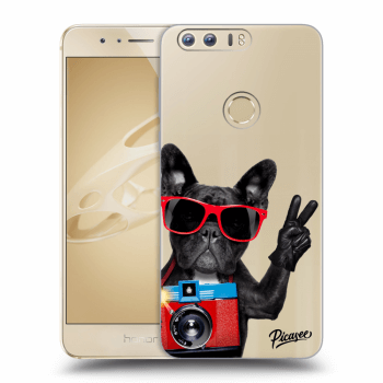 Obal pro Honor 8 - French Bulldog
