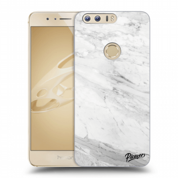 Obal pro Honor 8 - White marble