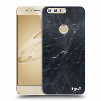 Obal pro Honor 8 - Black marble