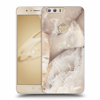 Obal pro Honor 8 - Cream marble