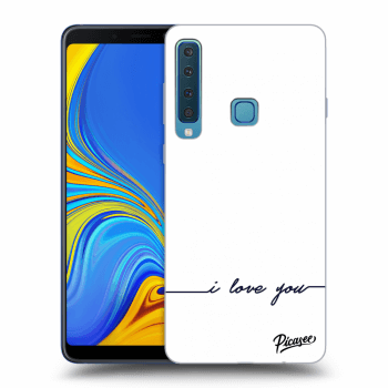 Obal pro Samsung Galaxy A9 2018 A920F - I love you