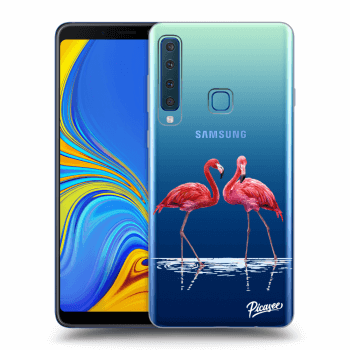 Obal pro Samsung Galaxy A9 2018 A920F - Flamingos couple