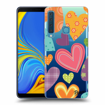 Obal pro Samsung Galaxy A9 2018 A920F - Colored heart