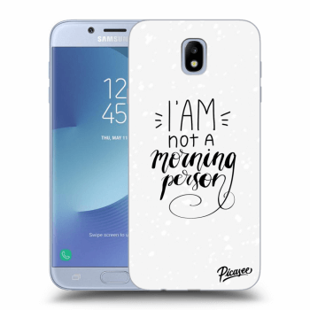 Obal pro Samsung Galaxy J7 2017 J730F - I am not a morning person
