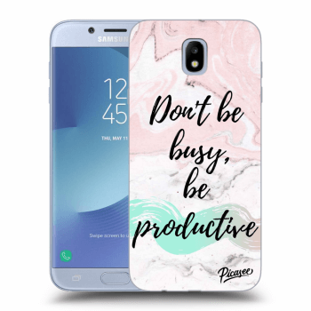 Obal pro Samsung Galaxy J7 2017 J730F - Don't be busy, be productive