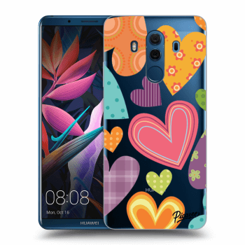 Obal pro Huawei Mate 10 Pro - Colored heart