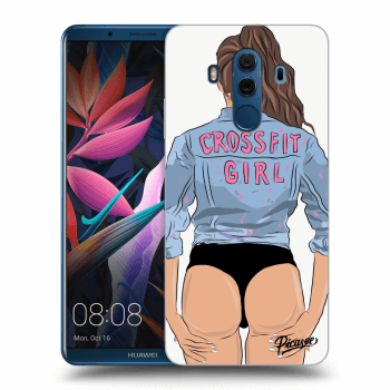 Obal pro Huawei Mate 10 Pro - Crossfit girl - nickynellow