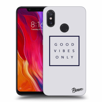 Obal pro Xiaomi Mi 8 - Good vibes only