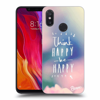 Obal pro Xiaomi Mi 8 - Think happy be happy