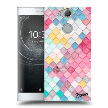 Obal pro Sony Xperia XA2 - Colorful roof