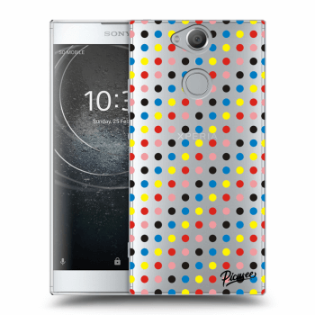 Obal pro Sony Xperia XA2 - Colorful dots