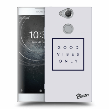 Obal pro Sony Xperia XA2 - Good vibes only