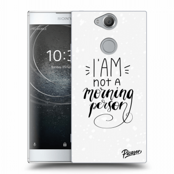 Obal pro Sony Xperia XA2 - I am not a morning person