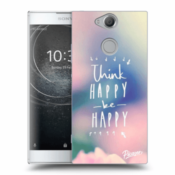 Obal pro Sony Xperia XA2 - Think happy be happy