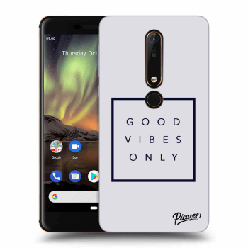 Obal pro Nokia 6.1 - Good vibes only