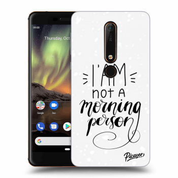 Obal pro Nokia 6.1 - I am not a morning person