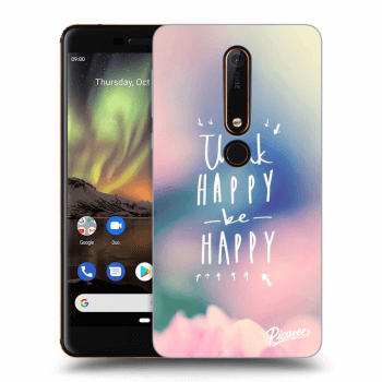Obal pro Nokia 6.1 - Think happy be happy